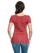 Vive Maria French Fleur Shirt red allover – Bild 3