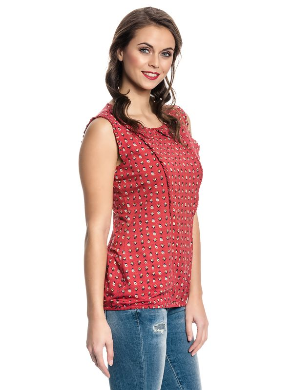 Vive Maria French Fleur Top red allover – Bild 3