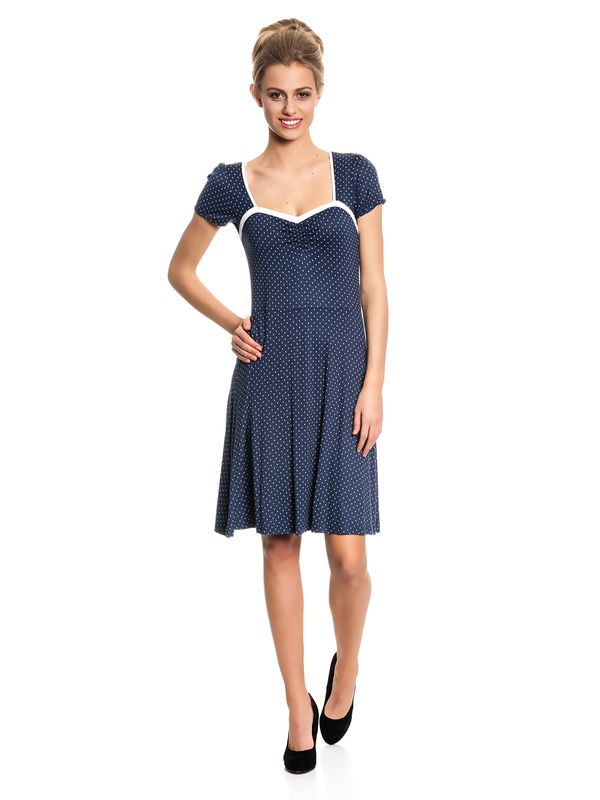 Vive Maria My Navy Dress Kleid marine Allover-Print – Bild 1