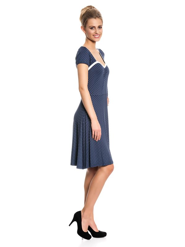 Vive Maria My Navy Dress Kleid marine Allover-Print – Bild 2