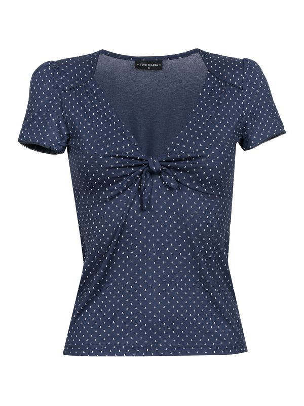 Vive Maria Sweet Navy Shirt navy allover – Bild 0