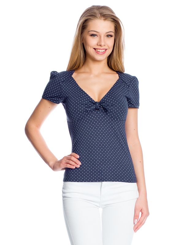 Vive Maria Sweet Navy Shirt navy allover – Bild 1