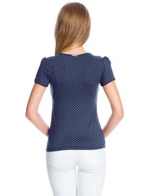 Vive Maria Sweet Navy Shirt marine Allover-Print – Bild 3