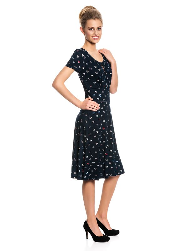 Vive Maria French Girl Dress navy allover – Bild 2