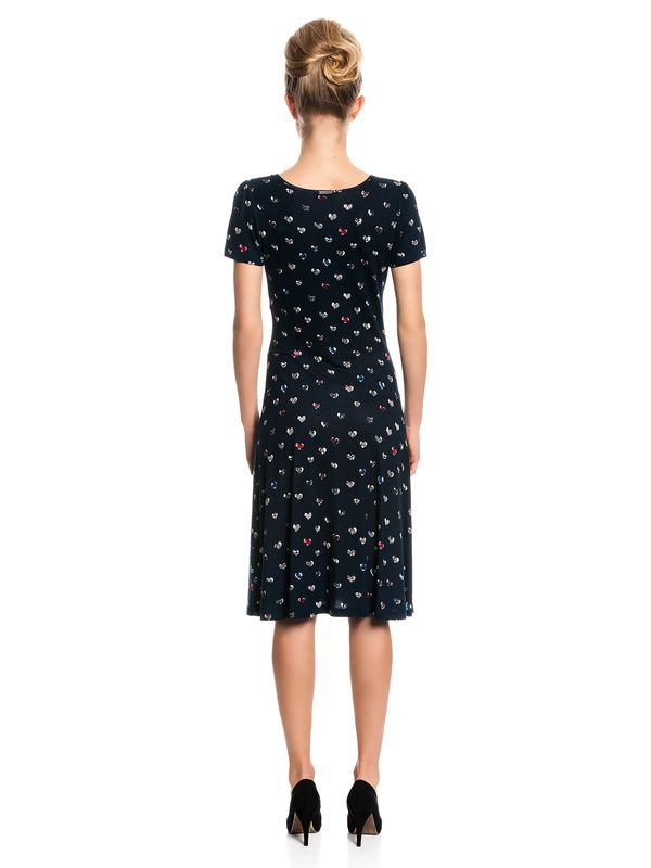 Vive Maria French Girl Dress navy allover – Bild 3