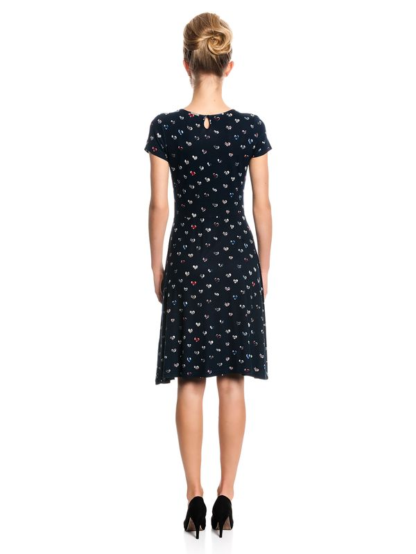 Vive Maria My Heart Girl Dress Kleid marine schwarz Allover-Print – Bild 3