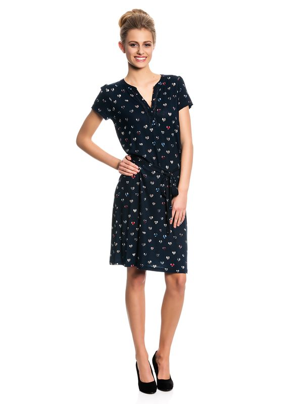 Vive Maria My Summer Heart Dress navy allover – Bild 1