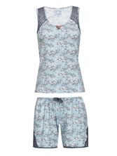 Vive Maria Little Bird Short Pyjama mint-melange/allover – Bild 0