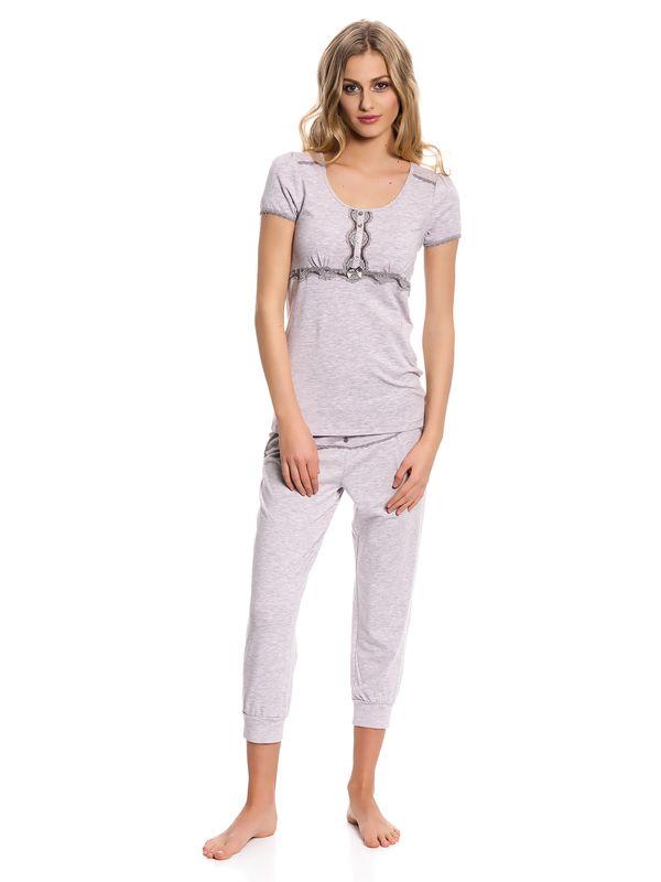 Vive Maria Tea Time Pyjama lightpink-melange – Bild 1