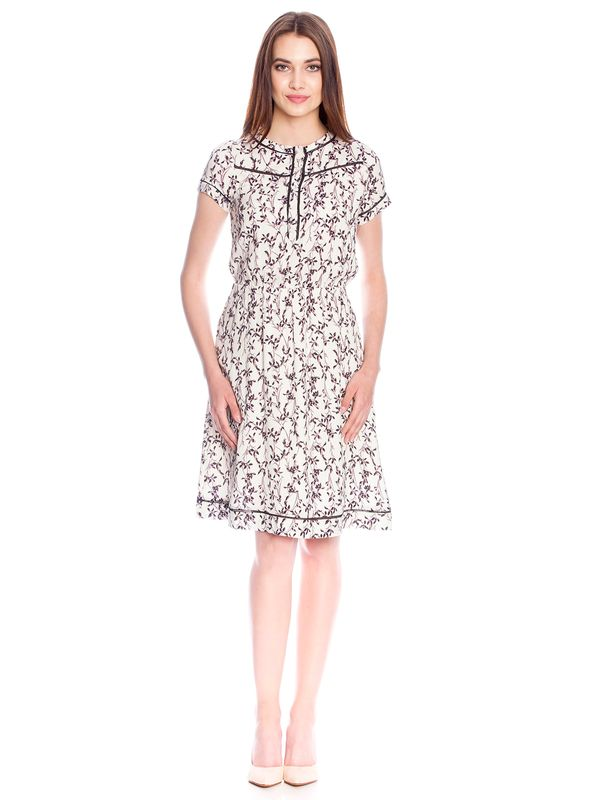 Vive Maria White Blossom Dress Kleid weiss Allover-Print – Bild 2