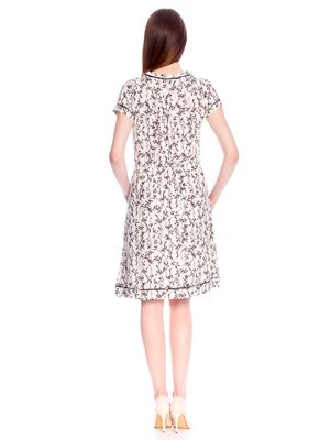 Vive Maria White Blossom Dress Kleid weiss Allover-Print – Bild 3