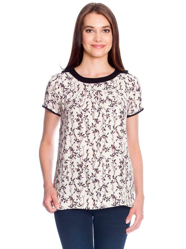 Vive Maria White Blossom Shirt weiss Allover-Print – Bild 2