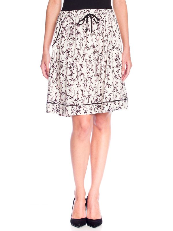 Vive Maria White Blossom Skirt Rock weiss Allover-Print – Bild 1