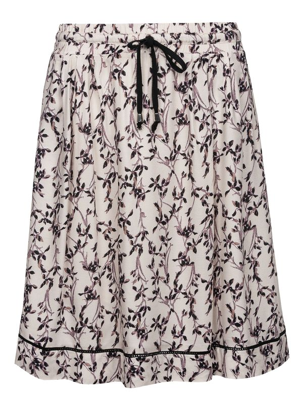 Vive Maria White Blossom Skirt Rock weiss Allover-Print – Bild 0