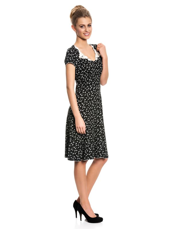 Vive Maria My Daisy Dress black allover – Bild 2