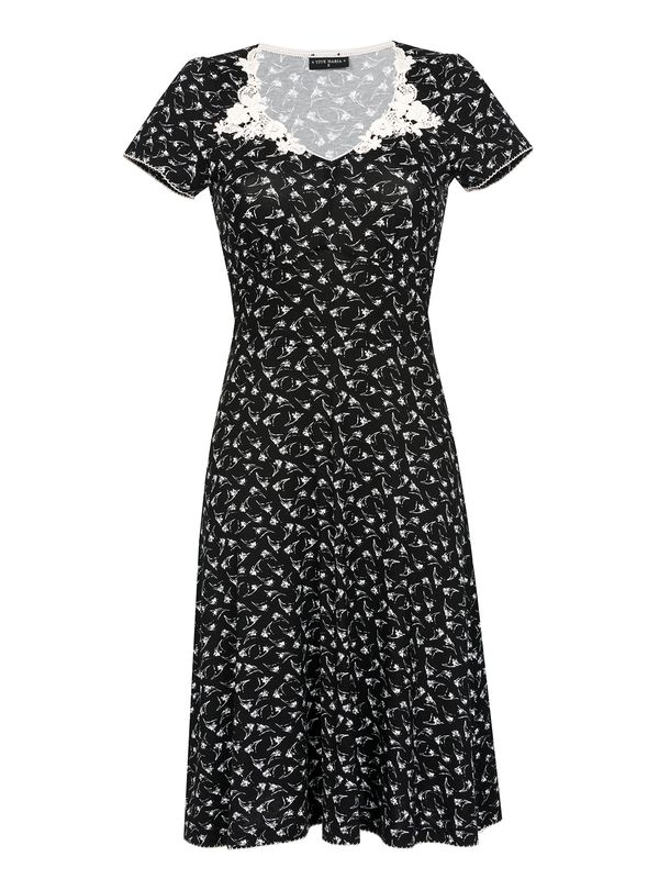 Vive Maria My Daisy Dress black allover – Bild 0