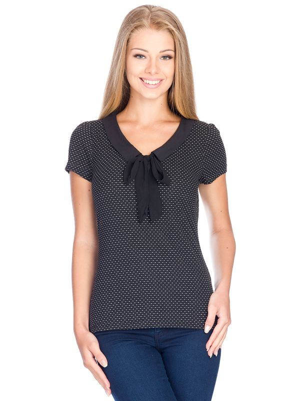 Vive Maria Madleine Shirt black allover – Bild 1