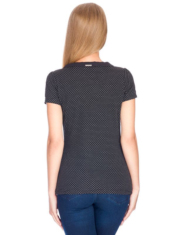 Vive Maria Madleine Shirt black allover – Bild 3
