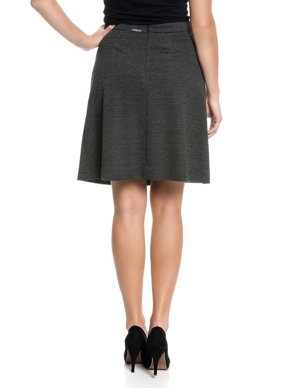 Vive Maria Paris Skirt Rock schwarz Allover-Print – Bild 3