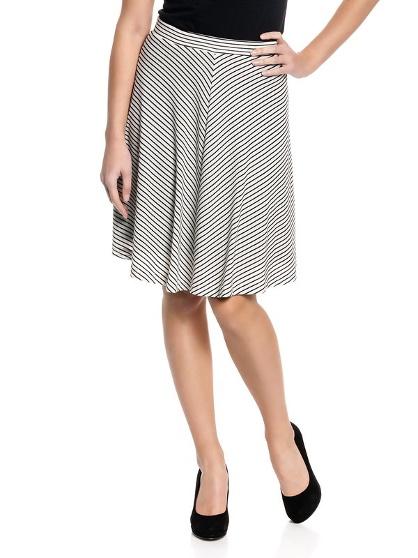 Vive Maria Capri Skirt cream/black – Bild 2