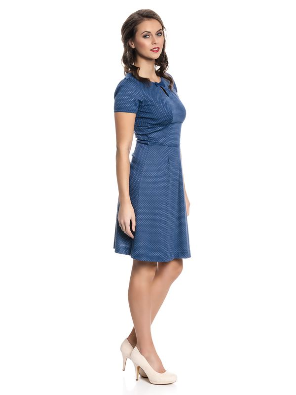Vive Maria Charming Audrey Dress blue allover – Bild 2