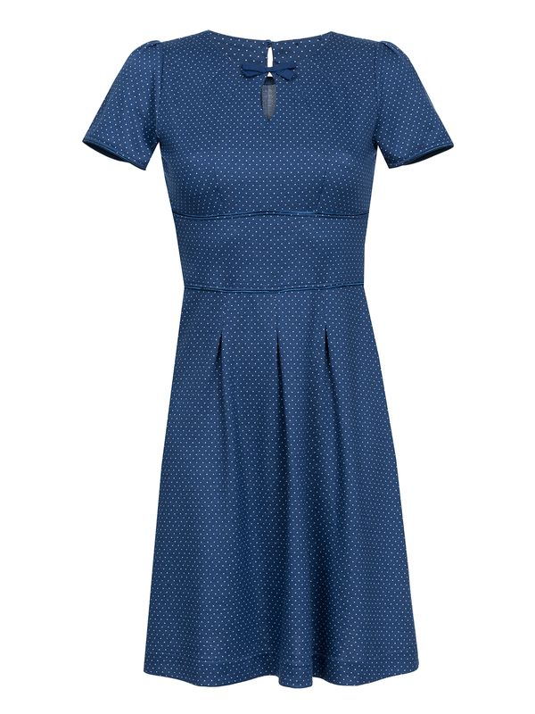Vive Maria Charming Audrey Dress Kleid blau Allover-Print – Bild 1