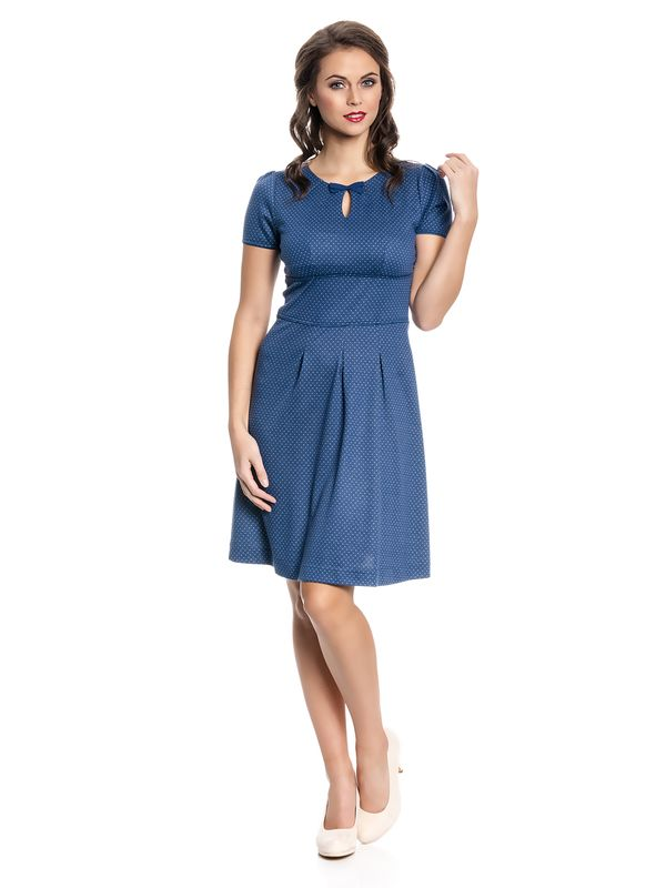 Vive Maria Charming Audrey Dress Kleid blau Allover-Print – Bild 2