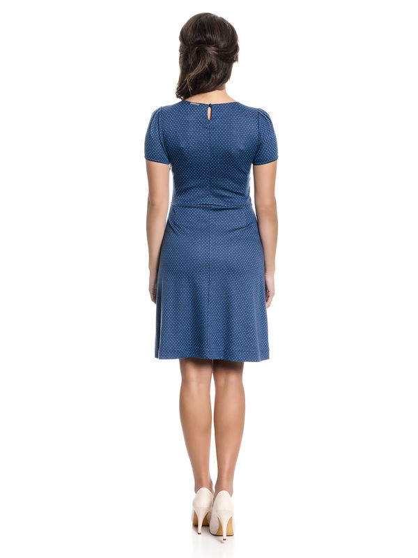 Vive Maria Charming Audrey Dress Kleid blau Allover-Print – Bild 4
