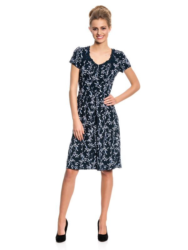Vive Maria Central Park Dress navy allover Druck – Bild 1