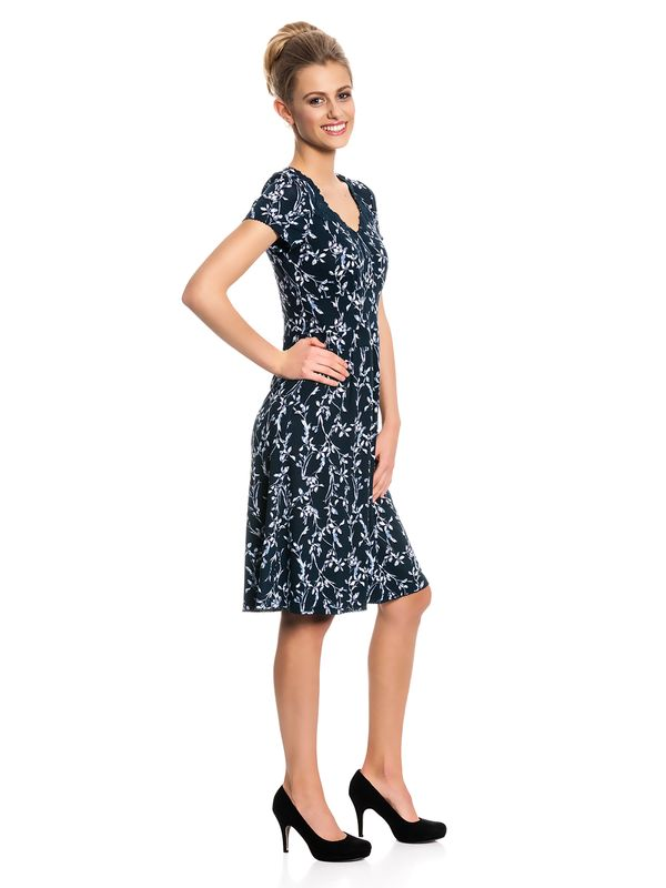 Vive Maria Central Park Dress navy allover Druck – Bild 2