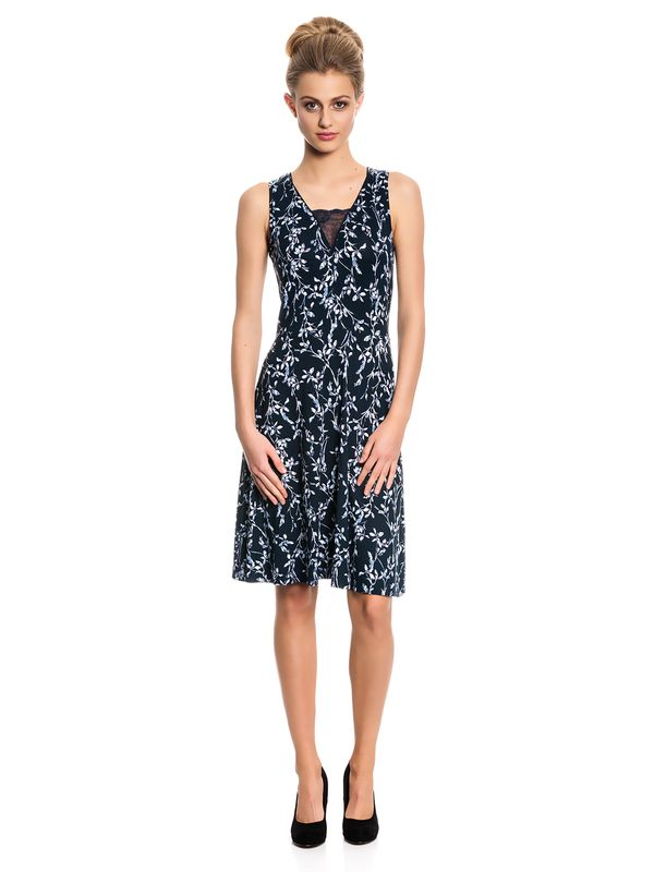 Vive Maria Broadway Dress Kleid dunkelgrau Allover-Print – Bild 1