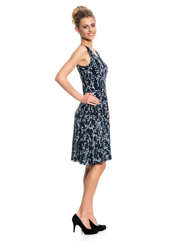 Vive Maria Broadway Dress Kleid dunkelgrau Allover-Print – Bild 2