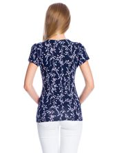 Vive Maria New In Town Shirt dunkelgrey Allover-Print – Bild 3
