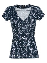 Vive Maria New In Town Shirt dunkelgrey Allover-Print – Bild 0