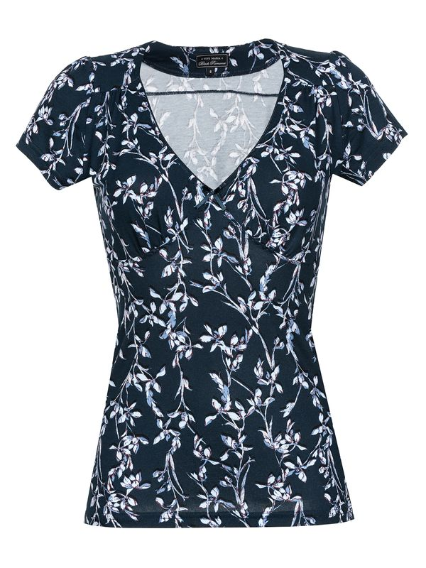 Vive Maria New In Town Shirt dunkelgrey Allover-Print – Bild 1