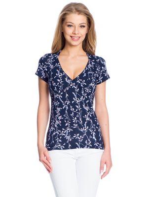 Vive Maria New In Town Shirt dunkelgrey Allover-Print – Bild 1