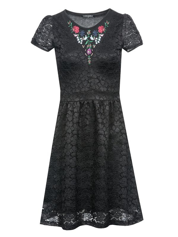 Vive Maria Bohemian Lace Dress black – Bild 0