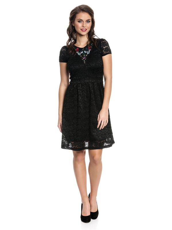 Vive Maria Bohemian Lace Dress black – Bild 1