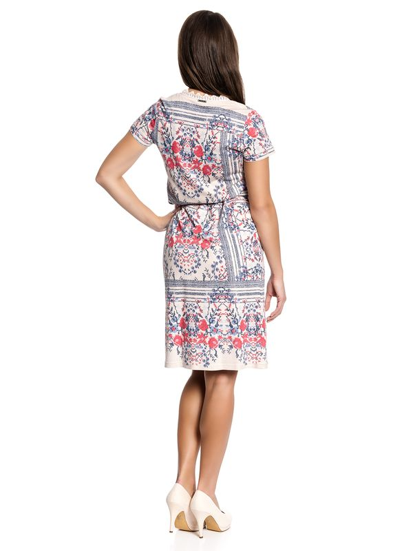 Vive Maria Bohemian Girl Dress Kleid beige Allover-Print – Bild 3