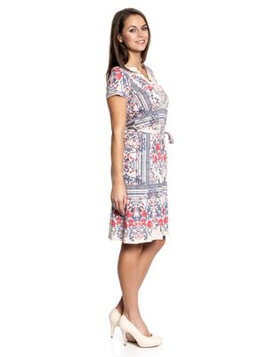 Vive Maria Bohemian Girl Dress Kleid beige Allover-Print – Bild 2
