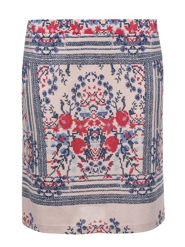 Vive Maria Bohemian Girl Skirt Rock beige Allover-Print – Bild 0