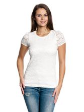 Vive Maria Flower Lace Shirt white – Bild 1