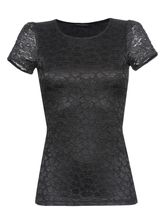 Vive Maria Flower Lace Shirt black – Bild 0