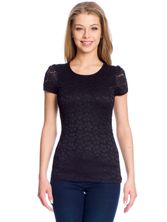 Vive Maria Flower Lace Shirt black – Bild 1