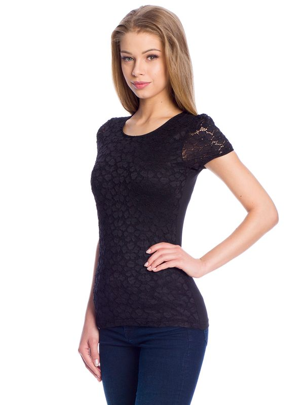 Vive Maria Flower Lace Shirt black – Bild 2