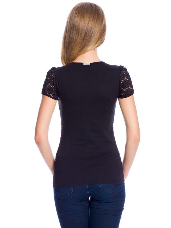 Vive Maria Flower Lace Shirt black – Bild 4