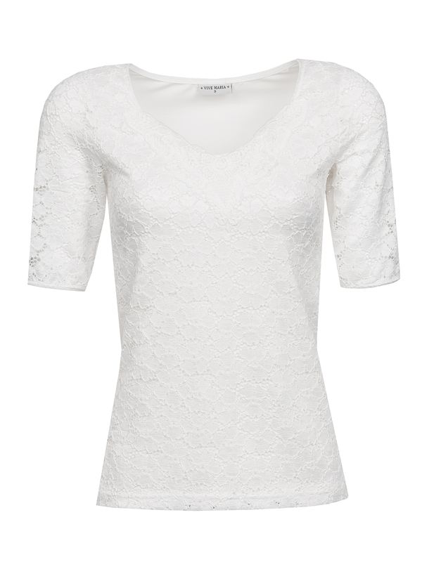 Vive Maria Romantic Lace Shirt weiss – Bild 0