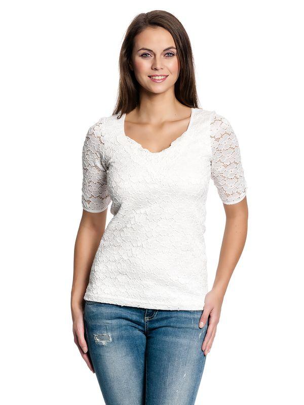 Vive Maria Romantic Lace Shirt weiss – Bild 1