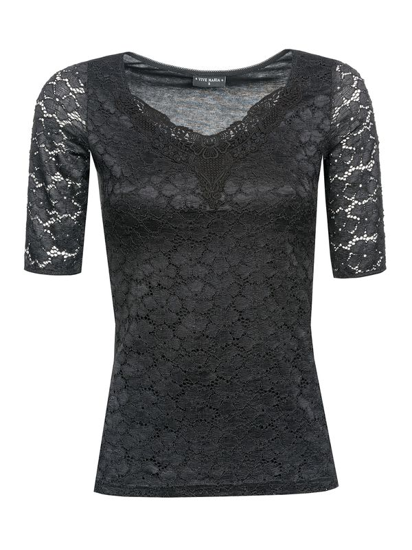 Vive Maria Romantic Lace Shirt black – Bild 1