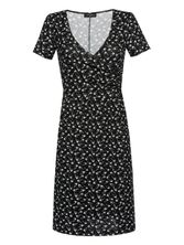 Vive Maria New Wrap Dressing schwarz Allover-Print – Bild 0